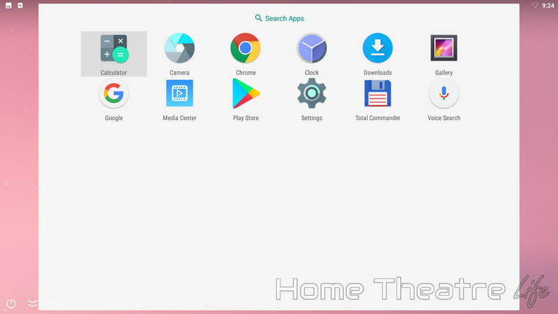 Ugoos UM4 Review: Android Launcher 02