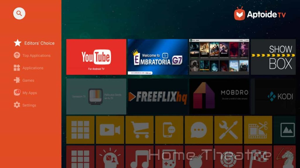 how to download apps on android tv box
