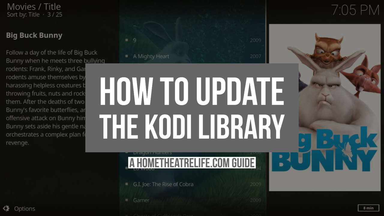 How To Update The Kodi Library Automatically Or Manually