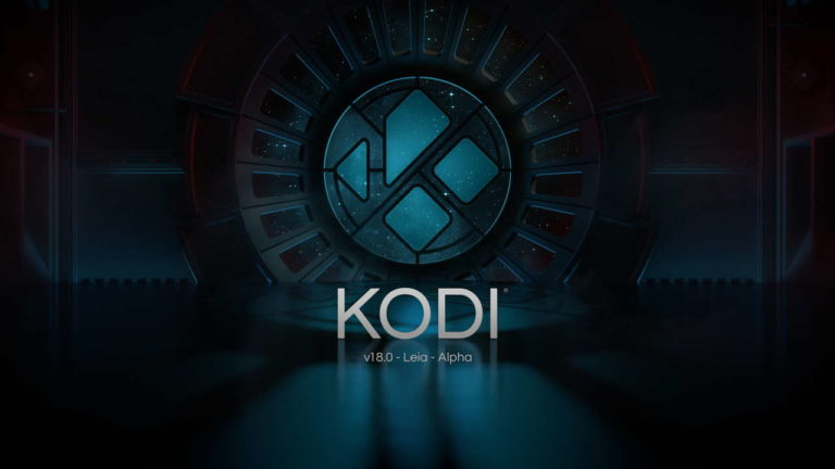 Kodi 18.0 Leia Splash Screen