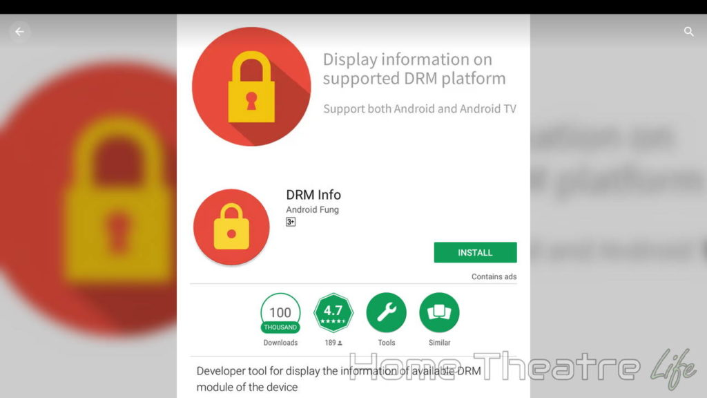 DRM Info on Android