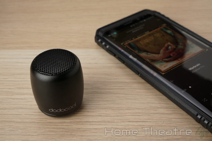 Dodocool DA84 Mini Bluetooth Speaker Review Featured Image