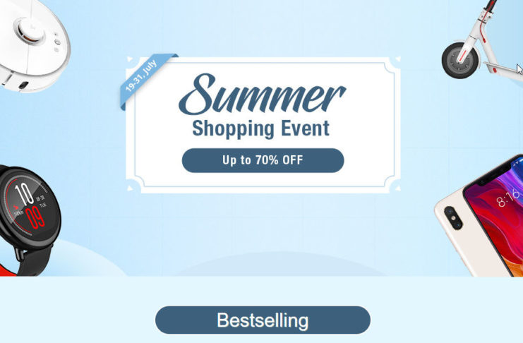GeekBuying Summer Sale June 2018
