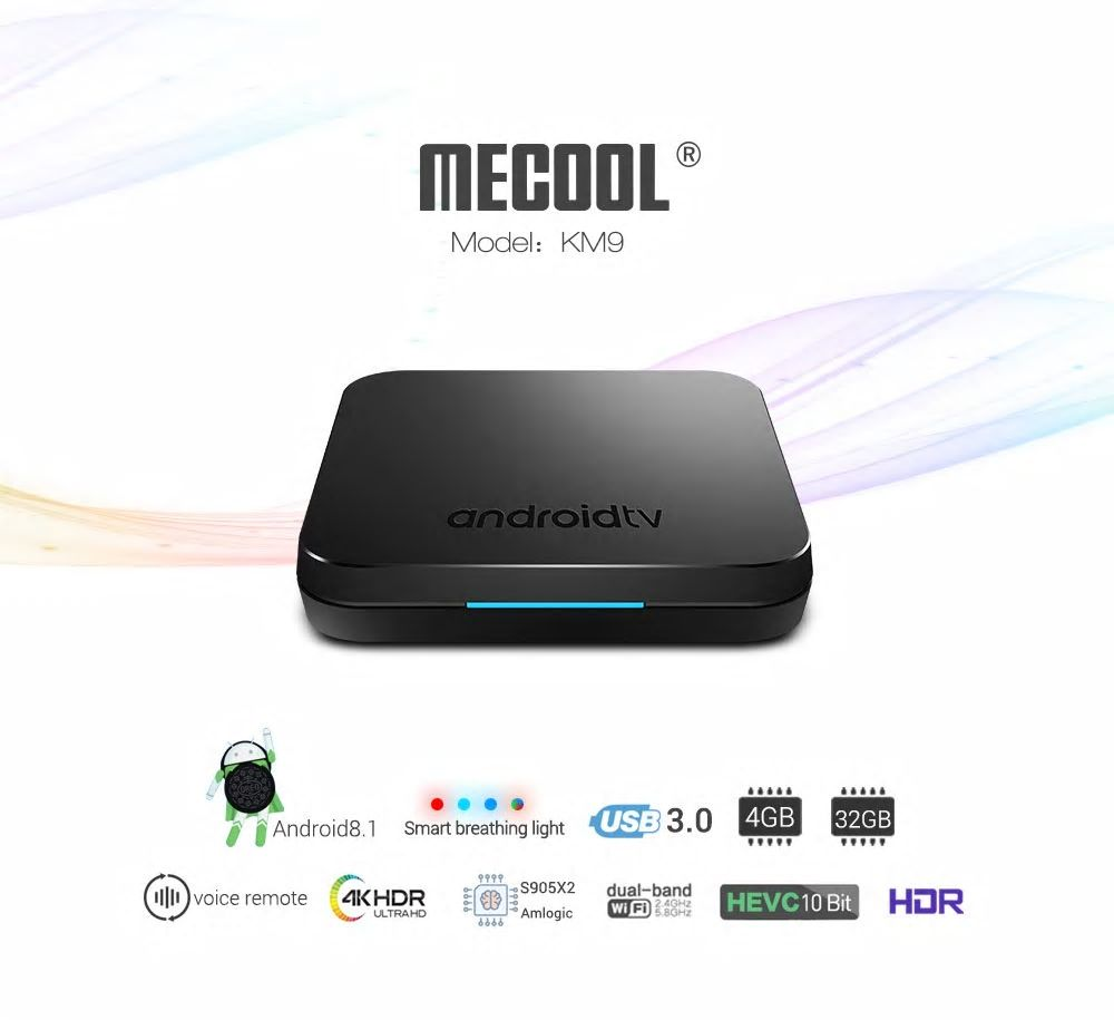 MECOOL KM9 Android TV Box Specs
