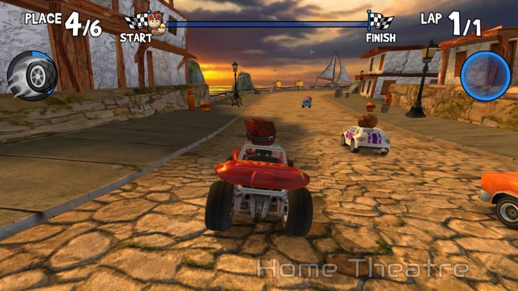Beach Buggy Racing on Beelink GT1-A