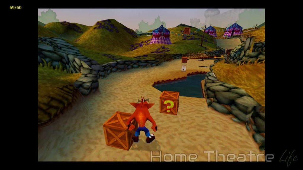 Crash Bandicoot 3: Warped on ePSXe