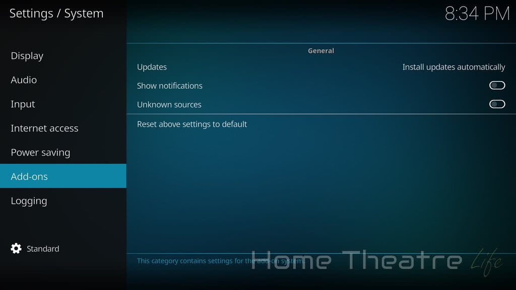 Enable Unknown Sources Kodi 03