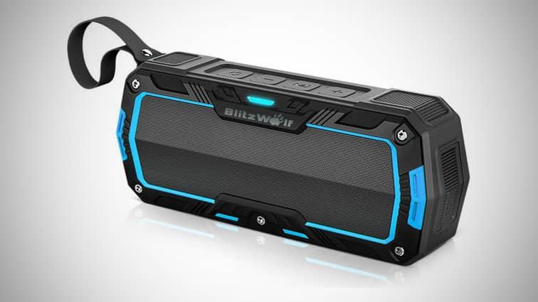 Best Cheap Bluetooth Speakers Under $20: Blitzwolf BW-F3 Bluetooth Speaker